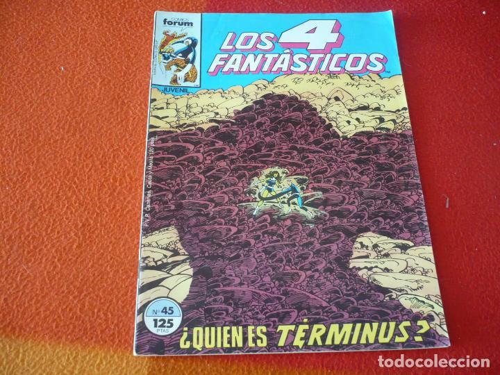 LOS 4 FANTASTICOS VOL. 1 Nº 45 ( BYRNE ) MARVEL FORUM (Tebeos y Comics - Forum - 4 Fantásticos)