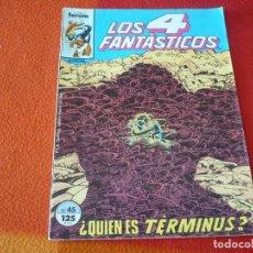 Cómics: LOS 4 FANTASTICOS VOL. 1 Nº 45 ( BYRNE ) MARVEL FORUM. Lote 253093025