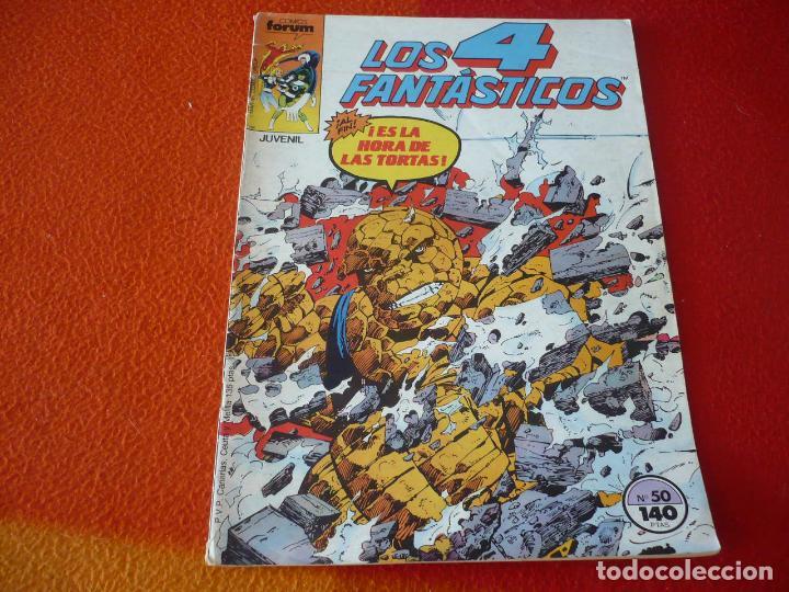 LOS 4 FANTASTICOS VOL. 1 Nº 50 ( BYRNE ) MARVEL FORUM (Tebeos y Comics - Forum - 4 Fantásticos)