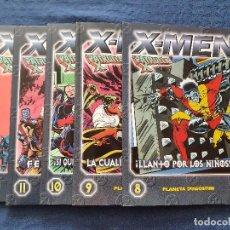 Cómics: COLECCIONABLE X-MEN LA PATRULLA-X # 8 - 9 - 10 - 11 - 12 - LOTE DE 5 NUMEROS (FORUM) - 2000. Lote 253128620