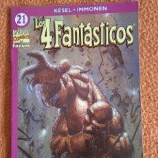 Cómics: 4 FANTÁSTICOS 21 VOL 4 FORUM. Lote 253296465