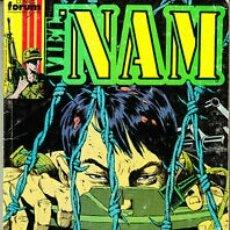 Comics : VIETNAM (THE NAM) - LOTE 6 RETAPADOS QUE INCLUYEN LOS 30 PRIMEROS NÚMEROS DE LA COLECCIÓN. FORUM.. Lote 253628010