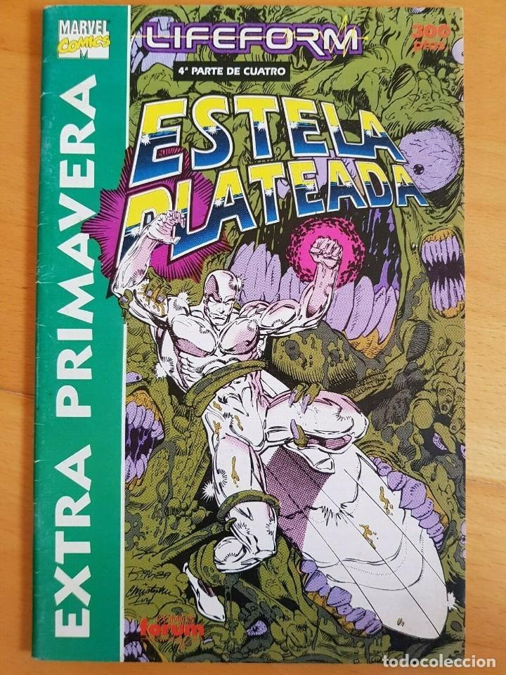 ESTELA PLATEADA EXTRA PRIMAVERA 1991 - FORUM (Tebeos y Comics - Forum - Silver Surfer)