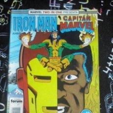 Cómics: FORUM - IRON MAN VOL.1 NUM. 42 MARVEL TWO-IN-ONE . MUY BUEN ESTADO. Lote 253680925