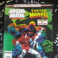 Cómics: FORUM - IRON MAN VOL.1 NUM. 45 MARVEL TWO-IN-ONE. Lote 253681665