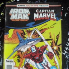 Cómics: FORUM - IRON MAN VOL.1 NUM. 46 MARVEL TWO-IN-ONE. Lote 253681815