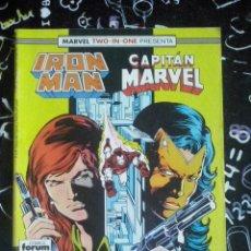 Cómics: FORUM - IRON MAN VOL.1 NUM. 47 MARVEL TWO-IN-ONE . MUY BUEN ESTADO. Lote 253682250