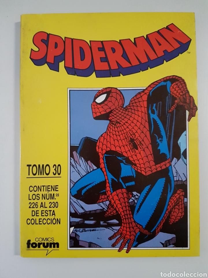 RETAPADO SPIDERMAN TOMO 30 - CONTIENE NÚMEROS 226 AL 230 - MARVEL FORUM (Tebeos y Comics - Forum - Retapados)