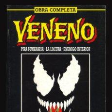 Cómics: VENENO. PIRA FUNERARIA - LA LOCURA - ENEMIGO INTERIOR - FORUM / TRES COLECCIONES EN UN TOMO RETAPADO. Lote 253710610