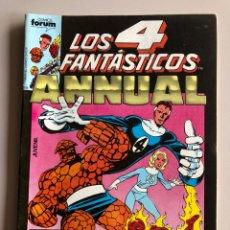 Cómics: LOS 4 FANTÁSTICOS CÓMICS FÓRUM NÚMERO 32. Lote 253860480