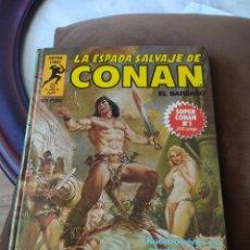 Comics : LA ESPADA SALVAJE DE CONAN. SERIE ORO - SUPER CONAN - TOMO 1. Lote 253875595