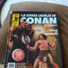 Comics : LA ESPADA SALVAJE DE CONAN SERIE ORO - SUPER CONAN - TOMO 12. Lote 253876245
