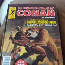 Comics : LA ESPADA SALVAJE DE CONAN SERIE ORO - SUPER CONAN - TOMO 10. Lote 253878205
