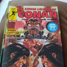 Comics : LA ESPADA SALVAJE DE CONAN SERIE ORO - SUPER CONAN - TOMO 14. Lote 253879250