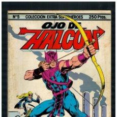 Comics : COLECCIÓN EXTRA SUPERHÉROES Nº 5. OJO DE ALCÓN. FORUM 1984.. Lote 253887330