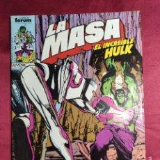 Comics : LA MASA EL INCREIBLE HULK. Nº 33. FORUM.. Lote 253932885