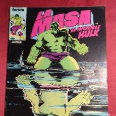 Cómics: LA MASA EL INCREIBLE HULK. Nº 34. FORUM.. Lote 253933350