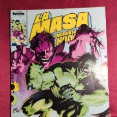 Comics : LA MASA EL INCREIBLE HULK. Nº 35. FORUM.. Lote 253933735