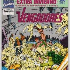 Cómics: LOS VENGADORES VOL. 1 EXTRA INVIERNO 1992 (INCLUYE POSTER) FORUM - COMO NUEVO. Lote 253960835