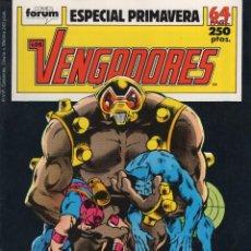 Cómics: LOS VENGADORES VOL. 1 ESPECIAL PRIMAVERA 1989 (INCLUYE POSTER) FORUM - ESTADO EXCELENTE. Lote 253963160