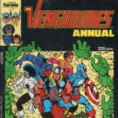 Cómics: LOS VENGADORES VOL. 1 ESPECIAL PRIMAVERA 1987 - FORUM - MUY BUEN ESTADO. Lote 253965345