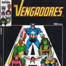 Cómics: LOS VENGADORES VOL. 1 ESPECIAL VACACIONES 1986 (INCLUYE POSTER) FORUM - ESTADO EXCELENTE. Lote 253965850