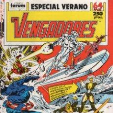 Cómics: LOS VENGADORES VOL. 1 ESPECIAL VERANO 1989 - FORUM - ESTADO EXCELENTE. Lote 253967705