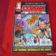 Cómics: CONAN EL BARBARO 2ª EDICION Nº 15 ( ROY THOMAS BARRY SMITH ) MARVEL FORUM. Lote 254026805
