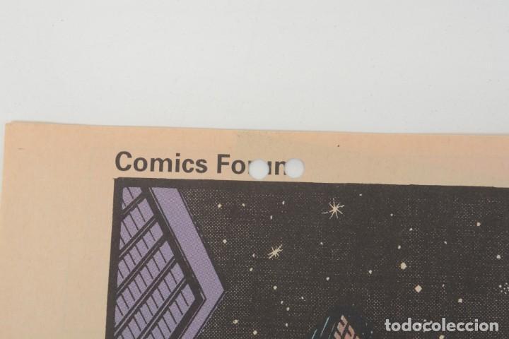 Cómics: Poster vintage de Coleccionable Forum 1991 Hulk La masa Marvel Mark Texeira y Harry Candelario - Foto 3 - 254083845