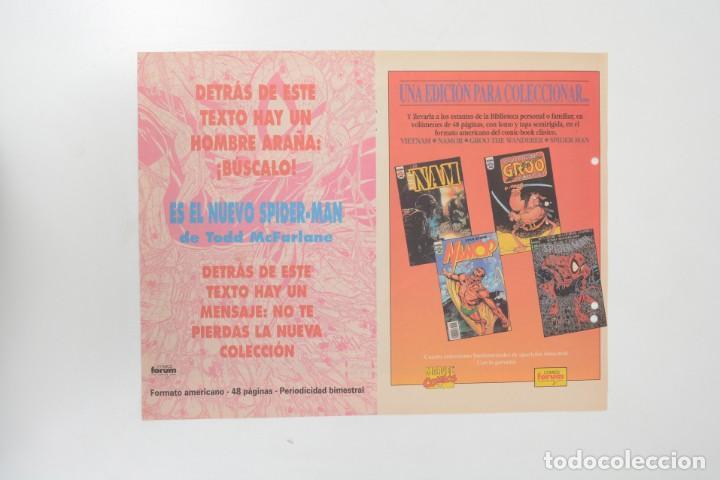 Cómics: Poster vintage de Coleccionable Forum 1991 Hulk La masa Marvel Mark Texeira y Harry Candelario - Foto 7 - 254083845