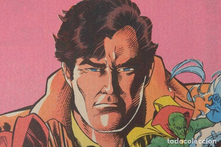 Cómics: Poster vintage de Coleccionable Forum 1989 Capitán América superheroes de Marvel - Foto 4 - 254085285