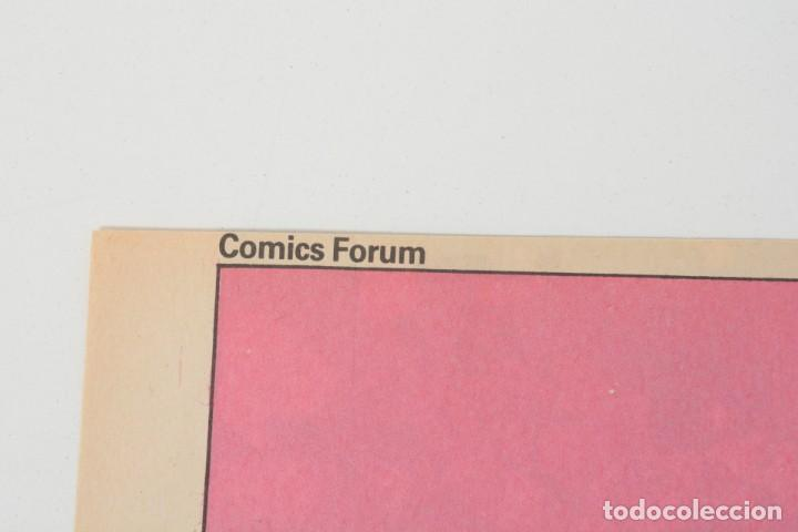 Cómics: Poster vintage de Coleccionable Forum 1989 Capitán América superheroes de Marvel - Foto 5 - 254085285
