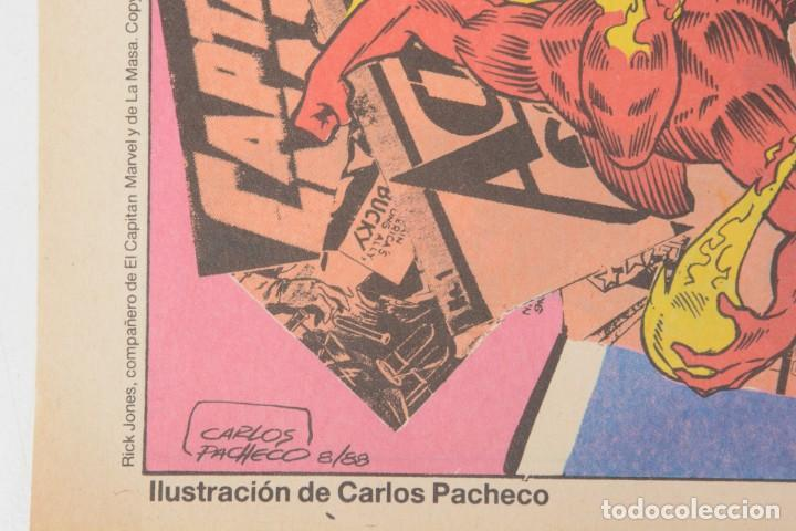 Cómics: Poster vintage de Coleccionable Forum 1989 Capitán América superheroes de Marvel - Foto 6 - 254085285