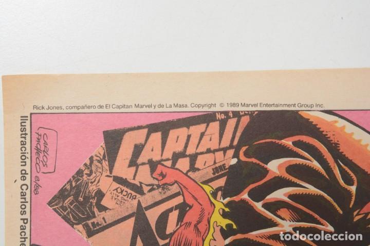 Cómics: Poster vintage de Coleccionable Forum 1989 Capitán América superheroes de Marvel - Foto 7 - 254085285