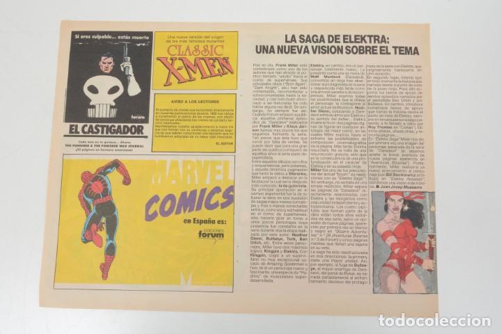 Cómics: Poster vintage de Coleccionable Forum 1989 Capitán América superheroes de Marvel - Foto 10 - 254085285