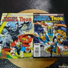 Cómics: MARVEL TWO-IN-ONE CAPITAN AMERICA THOR LOTE DE 2N° 58-59 (FORUM). Lote 254168830