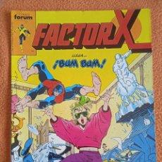 Cómics: FACTOR X 12 VOL 1- FORUM. Lote 254189910