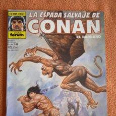 Cómics: LA ESPADA SALVAJE DE CONAN 149 VOL 1-FORUM. Lote 254211855
