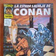 Cómics: LA ESPADA SALVAJE DE CONAN 151 VOL 1-FORUM. Lote 254212095