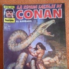 Cómics: LA ESPADA SALVAJE DE CONAN 157 VOL 1-FORUM. Lote 254212430