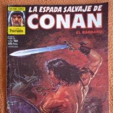 Cómics: LA ESPADA SALVAJE DE CONAN 163 VOL 1-FORUM. Lote 254213285