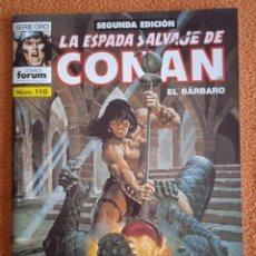 Cómics: LA ESPADA SALVAJE DE CONAN 110 SEGUNDA EDICIÓN-FORUM. Lote 254214460