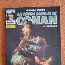 Cómics: LA ESPADA SALVAJE DE CONAN 112 SEGUNDA EDICIÓN-FORUM. Lote 254214785