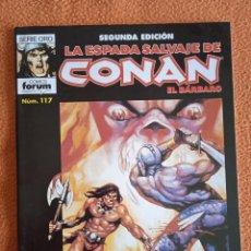 Cómics: LA ESPADA SALVAJE DE CONAN 117 SEGUNDA EDICIÓN-FORUM. Lote 254215320