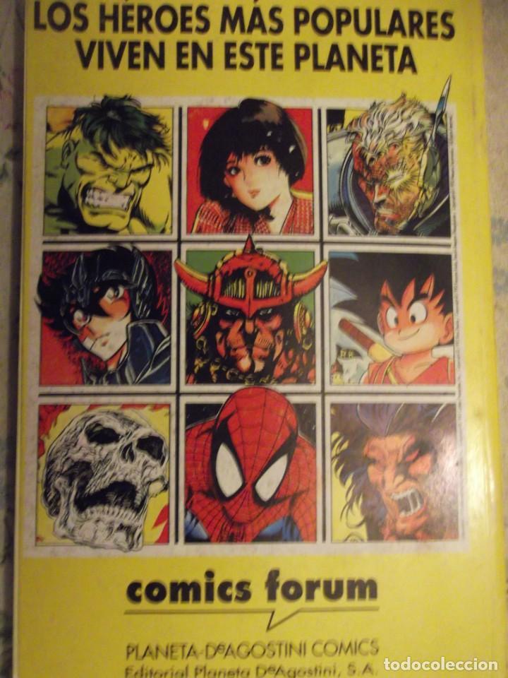 Cómics: Tomo nº 9 contiene del 41 al 45 ( 4 Fantasticos, Spiderman, Fenix , 5 fantasticos ) Ed 1991 - Foto 2 - 254263855