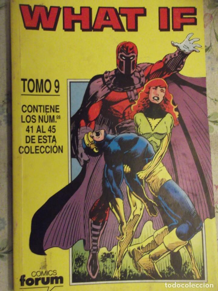 TOMO Nº 9 CONTIENE DEL 41 AL 45 ( 4 FANTASTICOS, SPIDERMAN, FENIX , 5 FANTASTICOS ) ED 1991 (Tebeos y Comics - Forum - 4 Fantásticos)