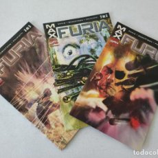 Cómics: MAX - FURIA - COMPLETA (3 COMICS) - MARVEL COMICS FORUM - ENNIS, ROBERTSON, PALMIOTTI. Lote 254292885