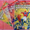 Lote 254412180: CAPITÁN BRITANIA PRESTIGIO Cómics Forum EDITORIAL PLANETA-DEAGOSTINI Completa 4 Nº.