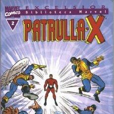 Cómics: BIBLIOTECA MARVEL PATRULLA X 2 NUEVO. Lote 254638115