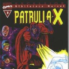 Cómics: BIBLIOTECA MARVEL PATRULLA X 3 NUEVO. Lote 254638180